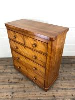 Victorian Satinwood Chest of Drawers (8 of 12)