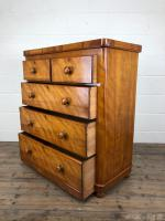 Victorian Satinwood Chest of Drawers (10 of 12)
