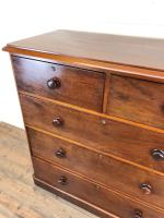 Large Victorian Mahogany Chest of Drawers (5 of 12)