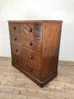 Large Victorian Mahogany Chest of Drawers (8 of 12)