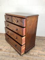 Large Victorian Mahogany Chest of Drawers (10 of 12)