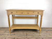 19th Century Pine Washstand with Drawers (4 of 11)