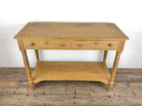 19th Century Pine Washstand with Drawers (5 of 11)