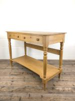 19th Century Pine Washstand with Drawers (9 of 11)