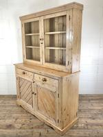 Late 19th Century Antique Pine Dresser with Glazed Top (7 of 8)