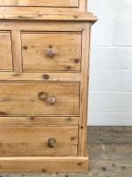 20th Century Pine Linen Press Cupboard (4 of 9)
