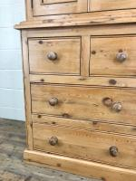 20th Century Pine Linen Press Cupboard (5 of 9)