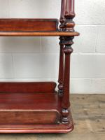 Antique Mahogany Three Tier Drinks Trolley (5 of 8)