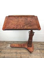 19th Century Mahogany Reading Table Stand (2 of 9)