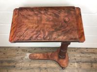19th Century Mahogany Reading Table Stand (3 of 9)