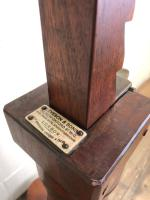 19th Century Mahogany Reading Table Stand (5 of 9)