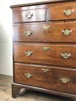 Georgian Oak Two Part Chest of Drawers (5 of 14)