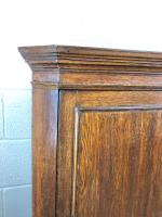 19th Century Antique Oak Corner Cupboard (4 of 6)