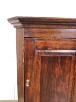 Small Early 19th Century Oak Corner Cupboard (3 of 7)