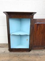 Small Early 19th Century Oak Corner Cupboard (5 of 7)