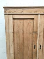 Antique Pine Flat Pack Double Wardrobe (3 of 10)