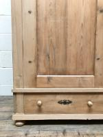 Antique Pine Flat Pack Double Wardrobe (4 of 10)