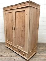 Antique Pine Flat Pack Double Wardrobe (8 of 10)