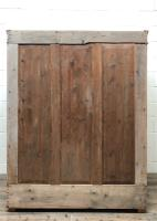 Antique Pine Flat Pack Double Wardrobe (9 of 10)