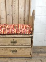 Rustic Antique Pine High Back Tavern Settle (4 of 13)