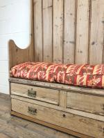 Rustic Antique Pine High Back Tavern Settle (5 of 13)