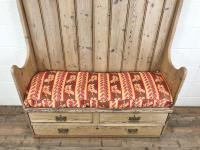 Rustic Antique Pine High Back Tavern Settle (6 of 13)