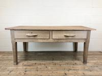 Early 20th Century Antique Oak & Pine Work Table
