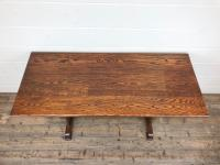 Early 20th Century Oak Dining Table c.1920 (5 of 12)