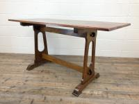 Early 20th Century Oak Dining Table c.1920 (6 of 12)