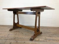 Early 20th Century Oak Dining Table c.1920 (7 of 12)
