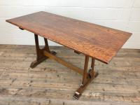 Early 20th Century Oak Dining Table c.1920 (8 of 12)