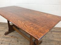 Early 20th Century Oak Dining Table c.1920 (9 of 12)