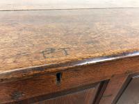 Antique 18th Century Welsh Oak Coffer Chest (4 of 13)