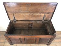 Antique 18th Century Welsh Oak Coffer Chest (13 of 13)