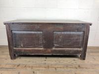 Antique 18th Century Welsh Oak Coffer Chest (11 of 13)