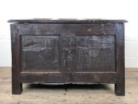 Antique 18th Century Welsh Oak Coffer with Carved Front (11 of 12)