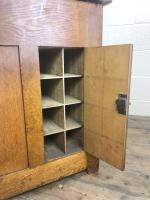 Early 20th Century Antique Oak Roll Top Desk (22 of 23)