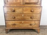 Early 19th Century Welsh Oak Linen Press Cupboard (3 of 13)