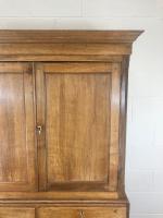 Early 19th Century Welsh Oak Linen Press Cupboard (5 of 13)