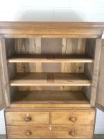 Early 19th Century Welsh Oak Linen Press Cupboard (10 of 13)