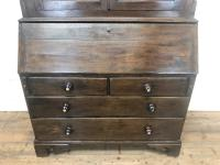 Antique 18th Century Welsh Oak Two Stage Bureau Cupboard (4 of 15)