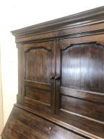 Antique 18th Century Welsh Oak Two Stage Bureau Cupboard (8 of 15)