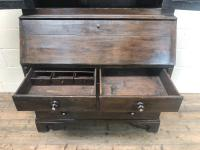 Antique 18th Century Welsh Oak Two Stage Bureau Cupboard (10 of 15)