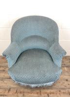 Late Victorian Upholstered Armchair (2 of 10)