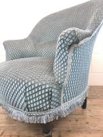 Late Victorian Upholstered Armchair (7 of 10)