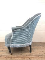 Late Victorian Upholstered Armchair (8 of 10)
