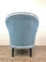 Late Victorian Upholstered Armchair (10 of 10)