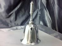 Heavy Gauge Edinburgh Silver Table Bell 1907 Hamilton & Inches (8 of 8)