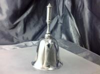 Heavy Gauge Edinburgh Silver Table Bell 1907 Hamilton & Inches (5 of 8)