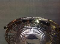 Scottish Edinburgh Silver Victorian Basket with Swing Handle 1848 (3 of 4)